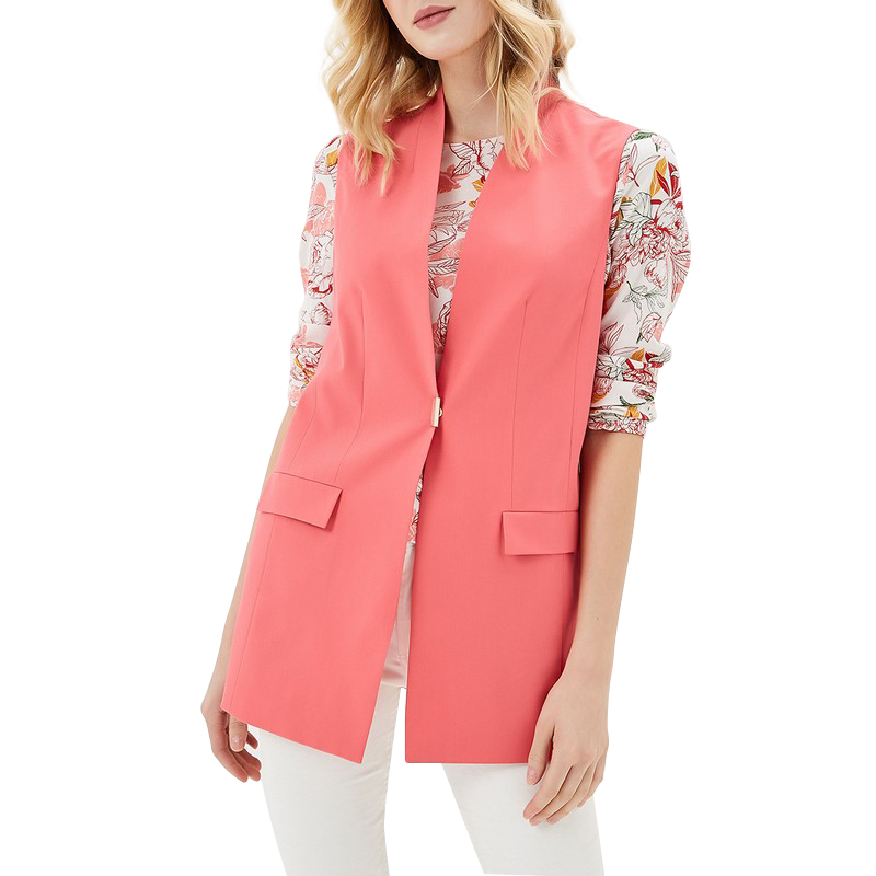 Vests MODIS M181W00461 woman vest jacket sleeveless jackets for female TmallFS