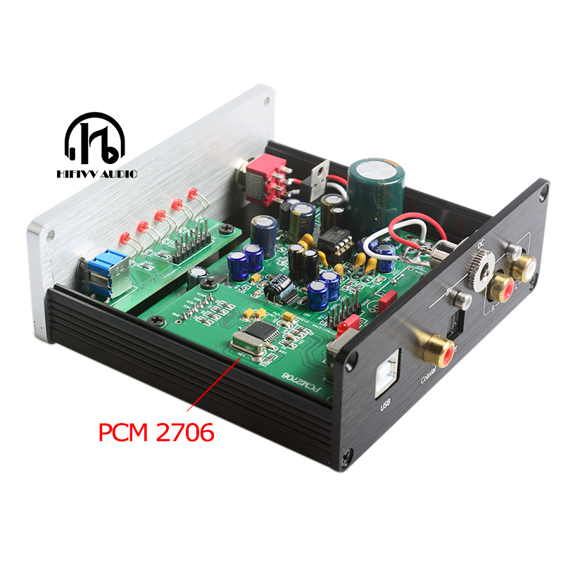 ハイファイ DAC デコーダ AK4490 ak4493 AK4118 DAC サポート同軸光学 USB Bluetooth 入力 RCA 出力