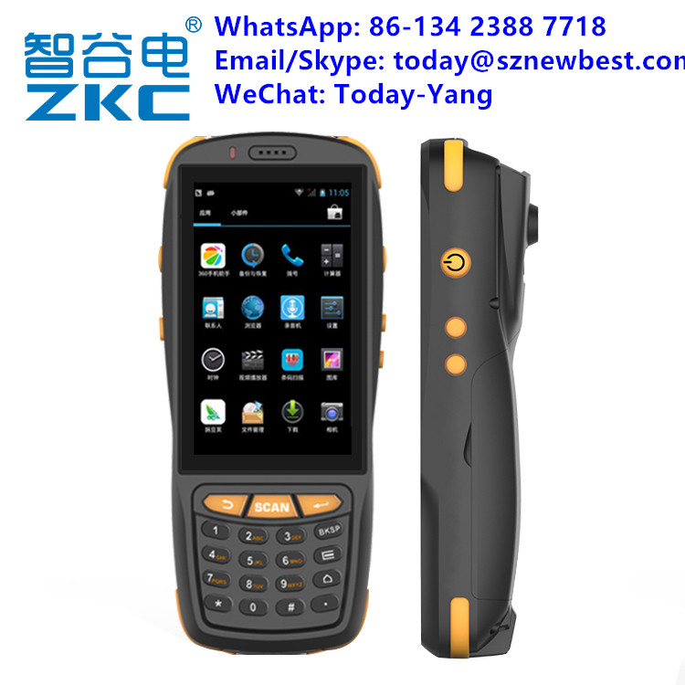 Factory Price Wireless 4G 4inch Touch Screen Android Handheld PDA Barcode Scanner