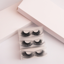 30 pairs 3d mink lashes wholesale mix mink eyelashes faux cils fake full strip with tray no packaging box false eye lash vendors