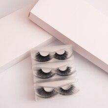 30 pairs 3d vizon toptan mix vizon kirpikler sahte cils sahte tam şerit tepsi hiçbir ambalaj kutusu ile yanlış göz kirpik satıcıları