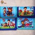 """1 unids Niños """"s bolso de La Moneda Carpeta de la historieta perro patrulla Spider-Man Pikachu juguetes para niños y regalos 0474"""