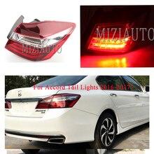 цена на MIZIAUTO Tail Light for Honda Accord 2016-2018 Taillight Assembly Outer Rear Headlight Tail Brake Light Lamp