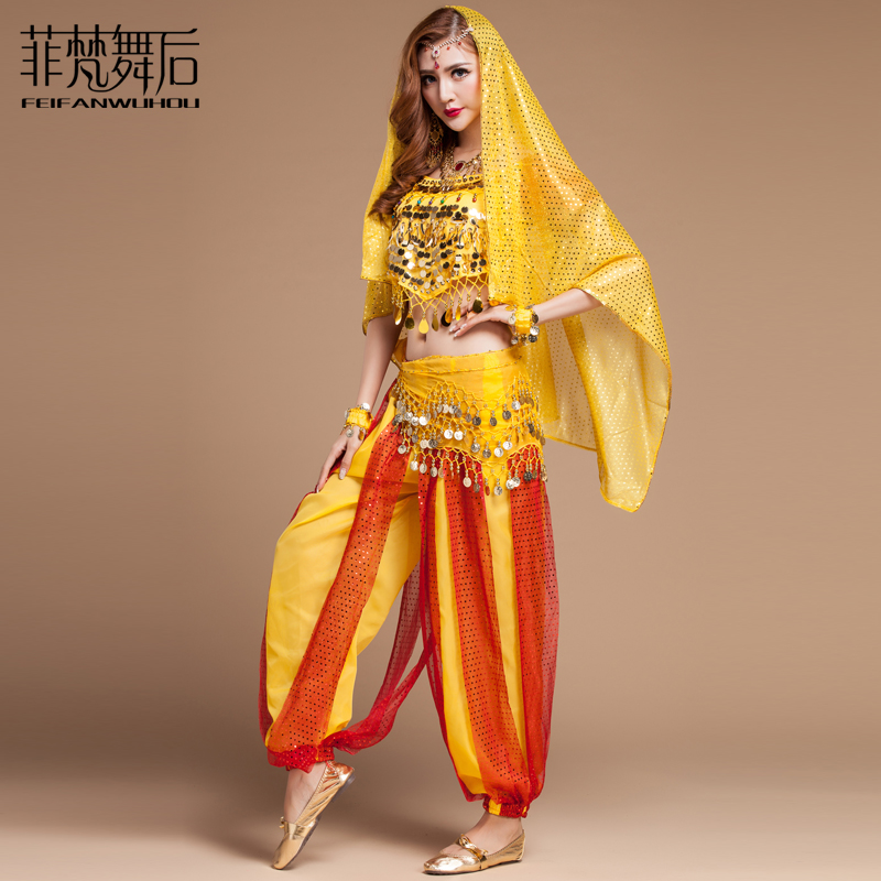 Free shipping High quality indian Dance clothes set for female/women/girl costume belly dance performance wears training dress-in Belly Dancing from ...  sc 1 st  AliExpress.com & Free shipping High quality indian Dance clothes set for female ...
