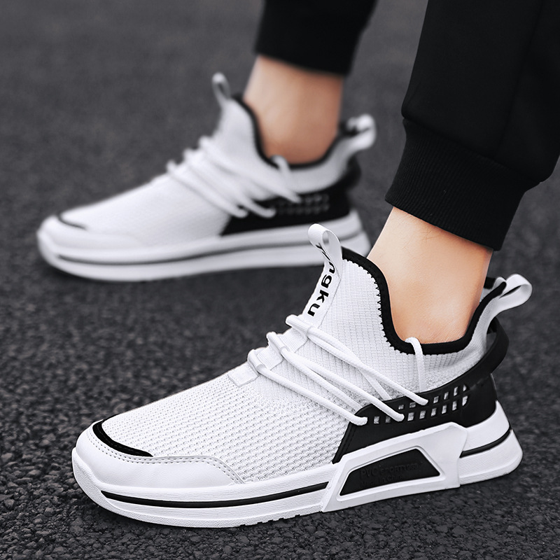 Hip hop Harajuku Autumn sneakers Men Breathable Mesh Casual Shoes Men Comfortable Fashion EVA Tenis Masculino Adulto Sneakers in Men 39 s Casual Shoes from Shoes