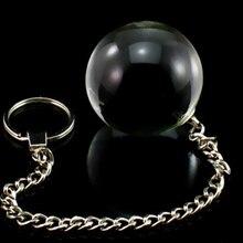 1PCS Glass Vaginal Ball  5 Size Anal Beads Balls Sex Toy Crystal Butt Beads Plug for Women Men Adult Toy Kegel Smart Geisha Ball