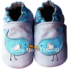 Free shipping 8pairs/lot Guaranteed 100% soft soled Genuine Leather baby shoes baby first walker dr0007-15