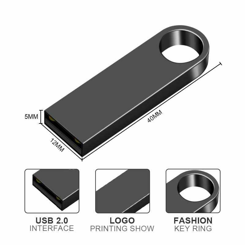 USB флеш-накопитель, флеш-накопитель 32 ГБ, 64 ГБ, 16 ГБ, 8 ГБ, флеш-накопитель 128 ГБ, водонепроницаемый металлический u-диск, запоминающий память, USB флеш-диск, ключ, карта памяти