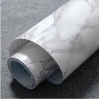Wallpapers youman 5M/10M Marble Waterproof Vinyl Self adhesive Wallpaper Modern Contact Paper Kitchen Cupboard Shelf Drawer Line
