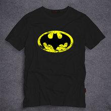 DC Comics Superhero Batman T-shirt Summer Short Sleeve Tees Hoodies Men's T Shirt Fashion Casual Costumes for Men S-5XL