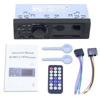 fm tf Dual USB Charging Car MP3 Player TF AUX Audio Input Wreless Remote Control Bluetooth LED Display Car MP3 FM Transmitter (1)