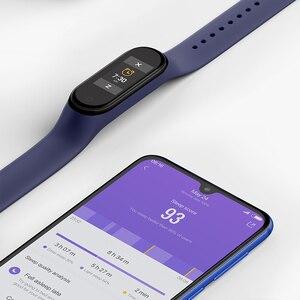 "Image 4 - Globale Version Xiaomi Mi Band 4 Smart Band 0.95 ""Farbe AMOLED Display Fitness Tracker armband Herz Rate Tracker 135mAh"