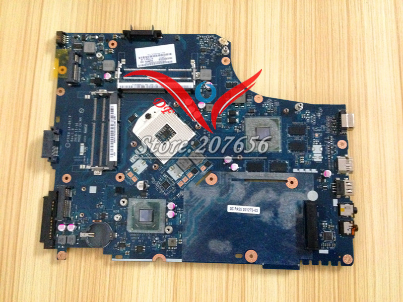 MBRCY02002 P7YE0 LA-6911P for Acer Aspire 7750G 7750 Laptop Motherboard Tested, 2 Memory Slot, video chip 216-0833000