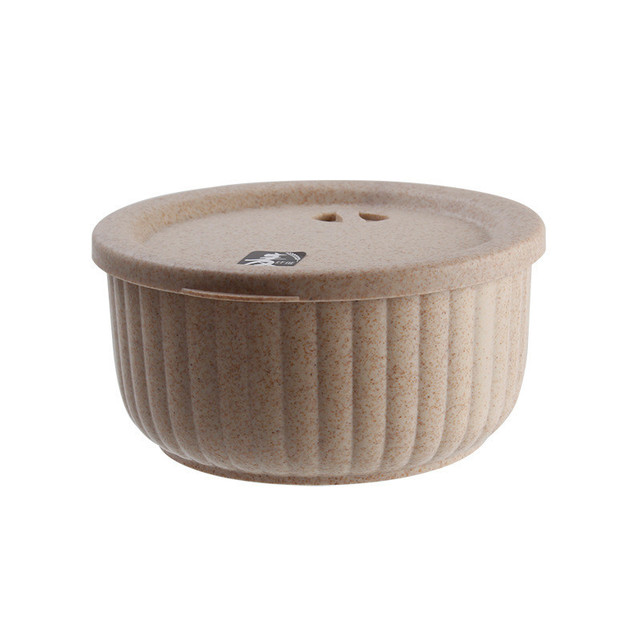 Multifunction Round Shaped Eco-Friendly Biodegradable Lunch Box