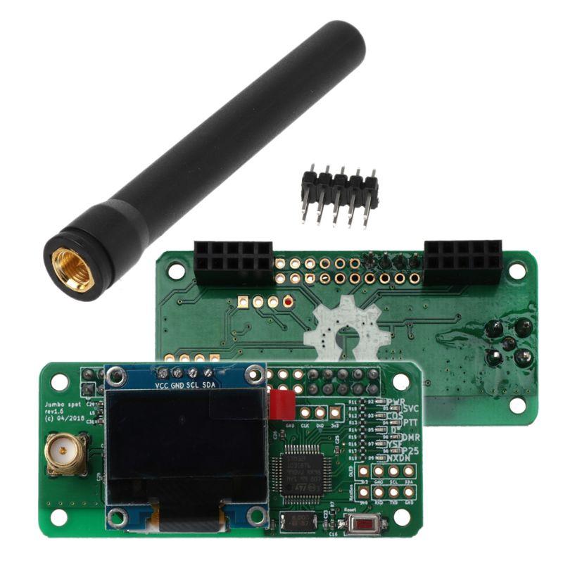 Support de Hotspot MMDVM P25 DMR YSF NXDN pour Raspberry Pi + OLED + Module de Hotspot d'antenne - 3