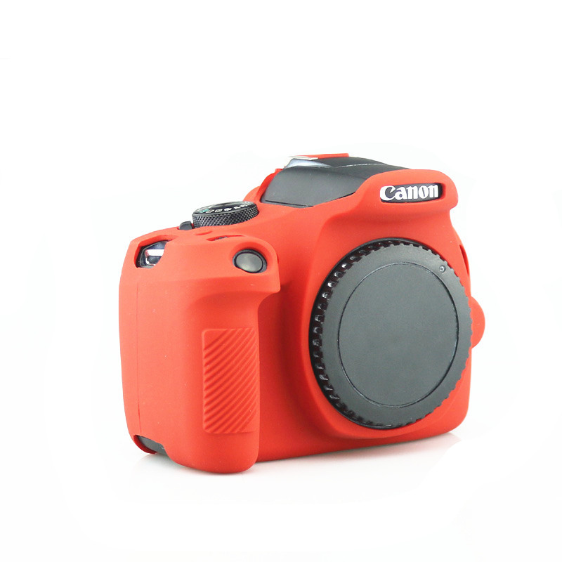 Silicone Armor Skin Case Camera Cover Protective Bag for Canon 700D T5i Camera