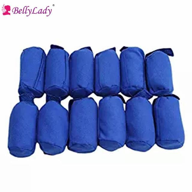12 Pcs Sleep Hair Curls Rollers Nighttime Hair Curlers for All Kinds ...
