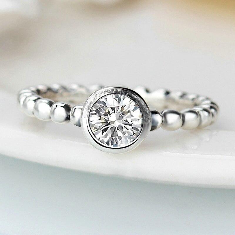 Octbyna Горячая Корона и в форме сердца стильные брендовые кольца для женщин вечерние кольца на палец для женщин очаровательные подарочные украшения Прямая поставка - Цвет основного камня: A7
