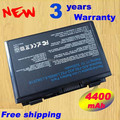 5200mAh battery for Asus  Asus A32-F52 A32-F82 A32 F82 K40 K40in K50 K42j K51 K60 K61 K70 P81 X5A X5E X70 X8A for asus K40