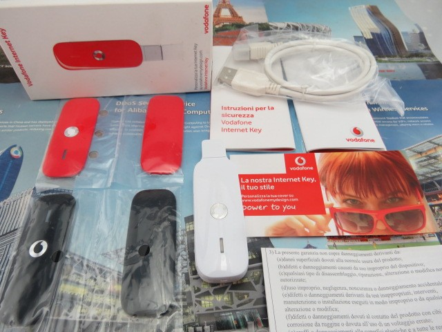 Vodafone 3G Wireless USB Modem K4305