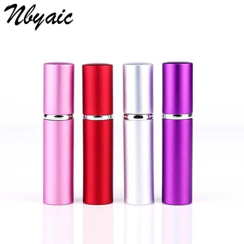 1pcs 5ml 10ml Perfume Bottle Mini Portable Travel Refillable Perfume Atomizer Bottle For Spray Scent Pump Case Empty As Gift