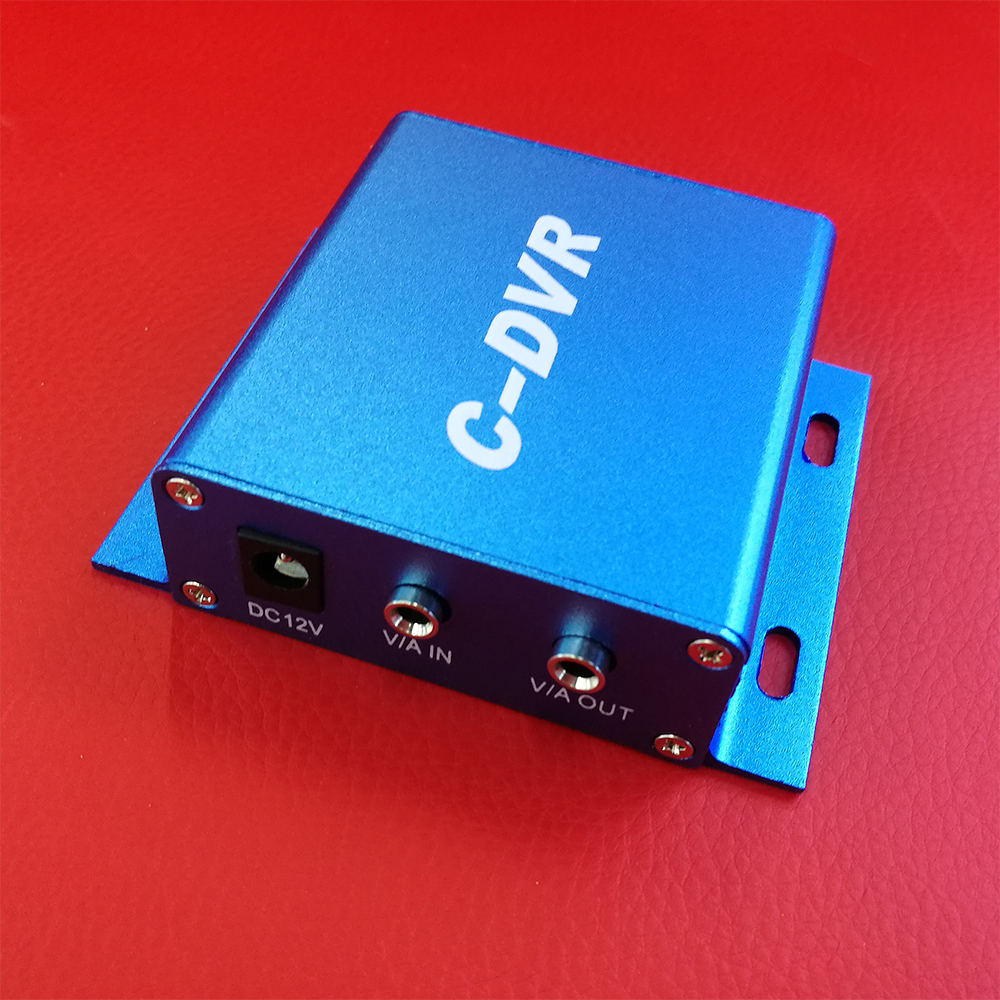 ФОТО  CWH C-DVR SD Card TF Card DVR for CCTV with audio and video input and output Mini DVR Support upto 32GB SD Card