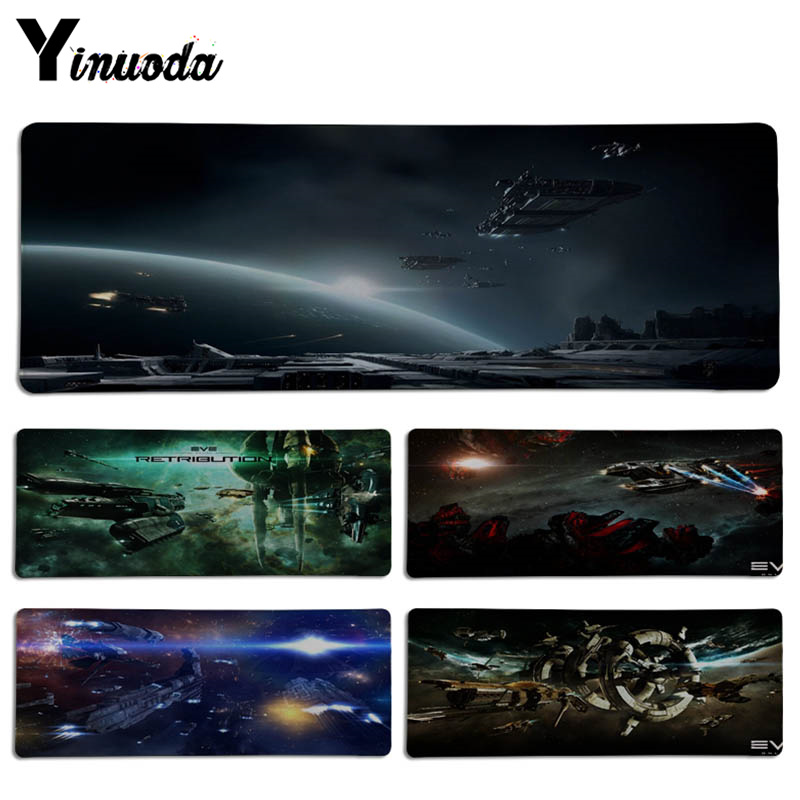 Yinuoda Funny Game EVE Online DIY Design Pattern Game Lockedge mousepad Size for 300*700*2mm and 300*900*2mm Game Mousepad