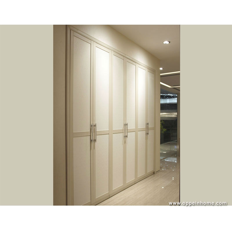 US $2058.0 |Product in Guangzhou factory OPPEIN Bedroom Furniture PVC and  Melamine 6 Swing Door Wardrobe YG21229-in Wardrobes from Furniture on ...