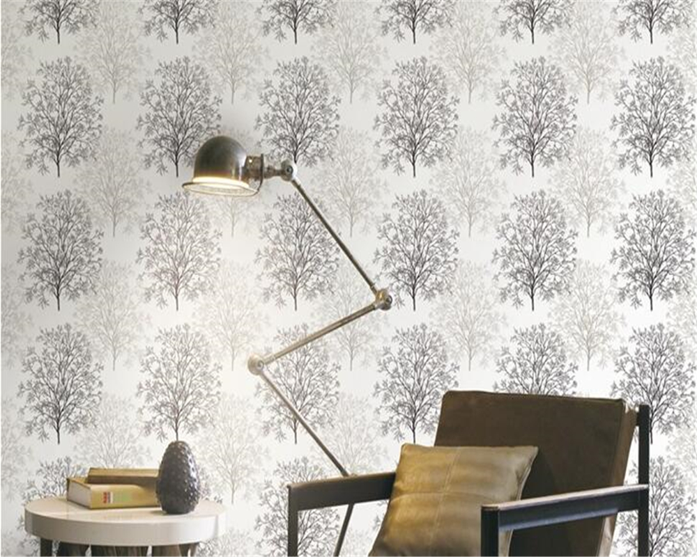 beibehang Abstract tree wall paper silk nonwoven fabric bedroom living room beauty salon club papel de parede 3d wallpaper large mural papel de parede european nostalgia abstract flower and bird wallpaper living room sofa tv wall bedroom 3d wallpaper