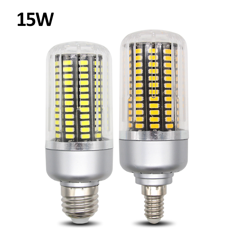 Smd 5733 lampada led lamp e27 15w 220v 138led lamparas led for Lampade led 220v