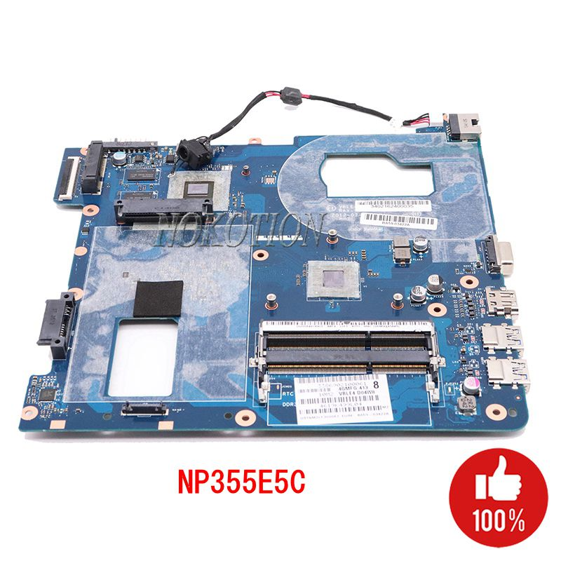 NOKOTION BA59 03420A VBLE4 VBLE5 LA 8868P Laptop motherboard For Samsung NP355E5C CPU DDR3 Main board