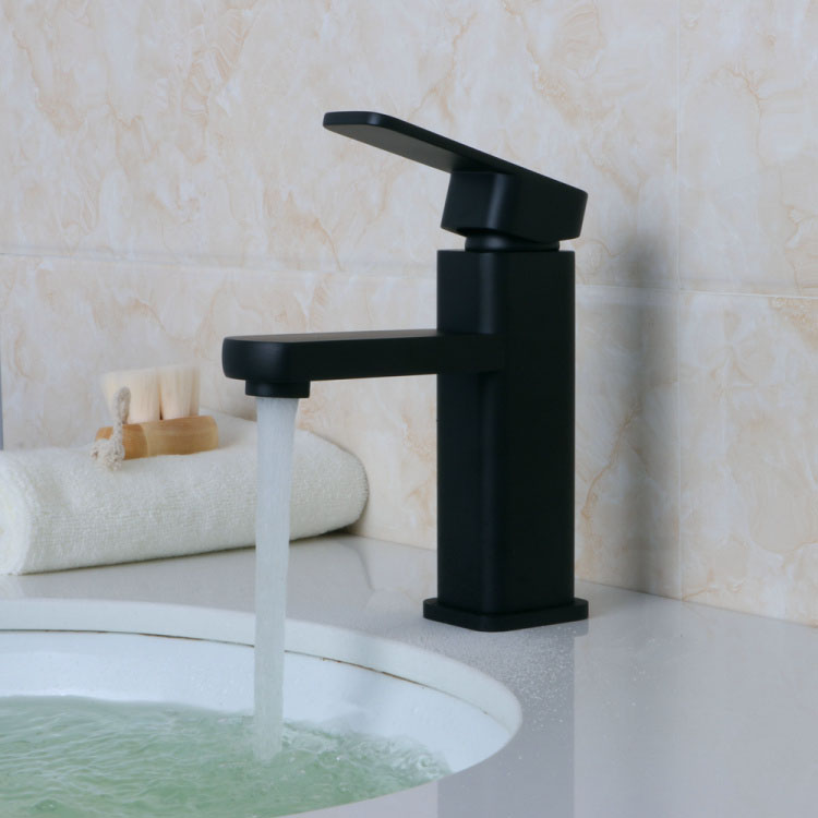 Antique Black Faucet Deck Mounted Brass Nickel Brushed Faucet Basin Mixer Hot and Cold Water Tap Bathroom Fixture Kitchen Tap