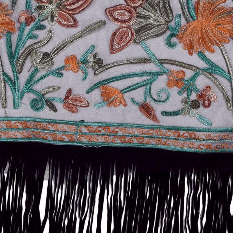 HTB1Eo0hJFXXXXbJXFXXq6xXFXXXh - Summer Autunm Women Vintage Boho Floral Tassel Long Cardigan