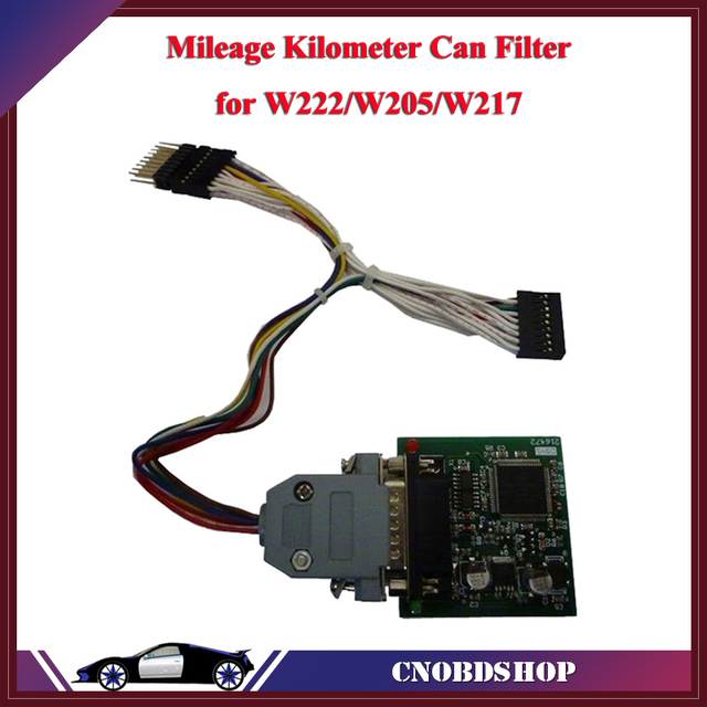 NEW W222/W205/W217/W253/W447/W213 Mileage Kilometer Can Filter KM between the cluster and the EZS module
