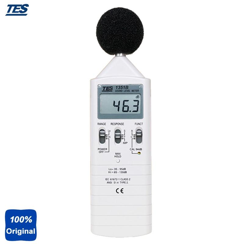 Sonomètre numérique Portable, testeur de sonomètre TES-1351B