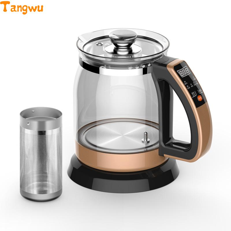 Free shipping NEW Multifunctional health pot kettle with thick glass automatic tea insulation Electric kettles free shipping multifunctional health pot kettle with thick glass automatic tea insulation safety auto off function