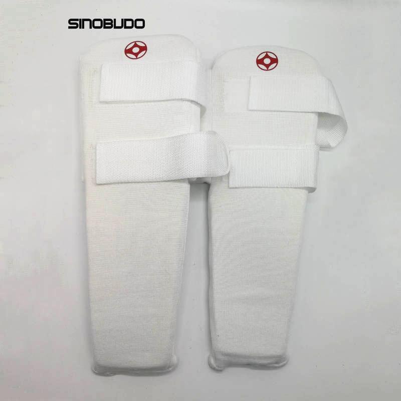 где купить Hot Sale Kyokushinkai Karate Foot Protection Kyokushin Shin Instep Guards Kick Boxing Taekwondo Shank Protectors по лучшей цене