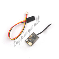 2.4 Gam Micro Fs-rx AFHDS 2A FS82 Receiver Mini RC 10 Kênh FS-I4 FS-I6 Transmitter RX IBUS PPM cho DIY Mini Thông Qua FPV Quad