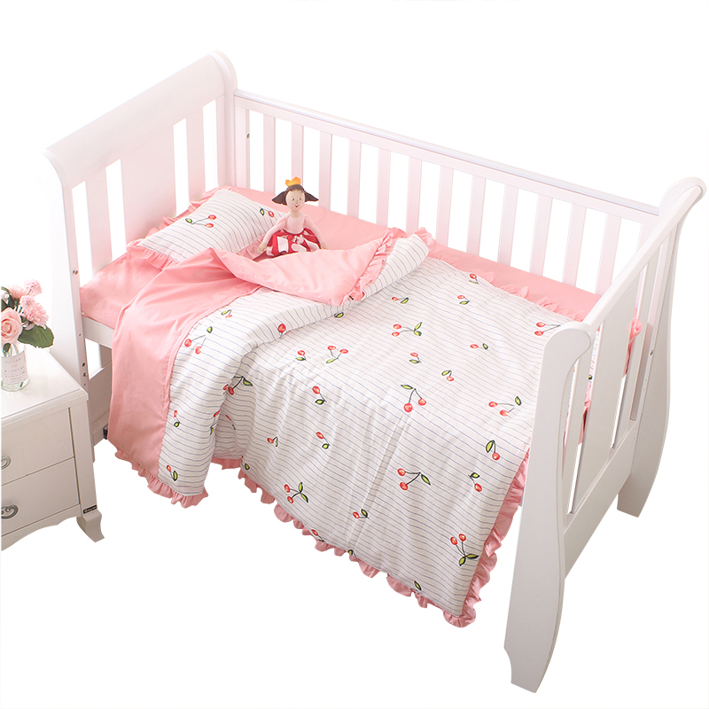 3 pcs baby crib quilt coverset 100%cotton baby boy girl removable baby bedding duvet cover  pillowcase sheet newborn baby gift3 pcs baby crib quilt coverset 100%cotton baby boy girl removable baby bedding duvet cover  pillowcase sheet newborn baby gift