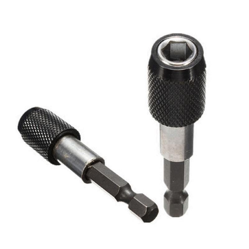 "1//2/""-1//4/"" Impact Drive Shank Quick Change Holder Hex Bit Drill Chuck Adapter"