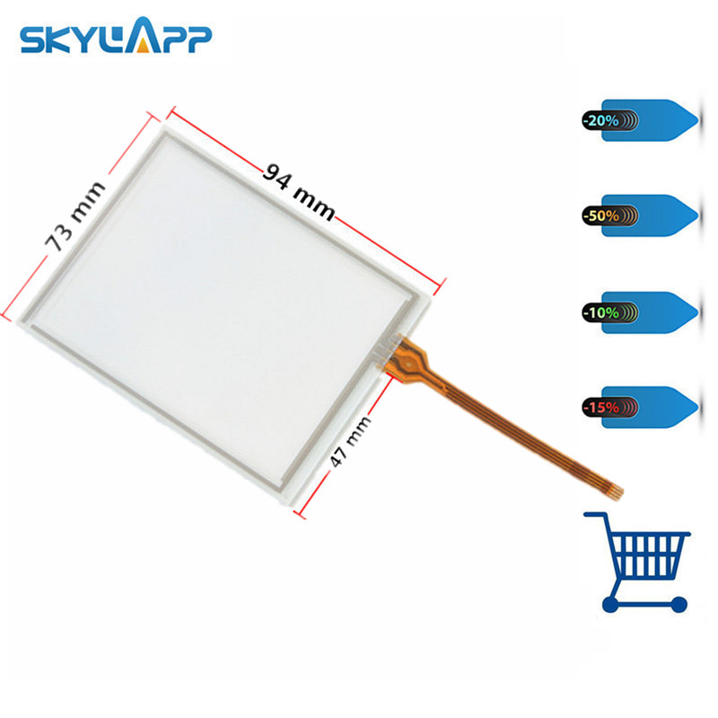 Skylarpu 4 inch for Trimble GeoXT PDA GPS Touch Screen glass Digitizer Resistance Replacement Free shipping цена