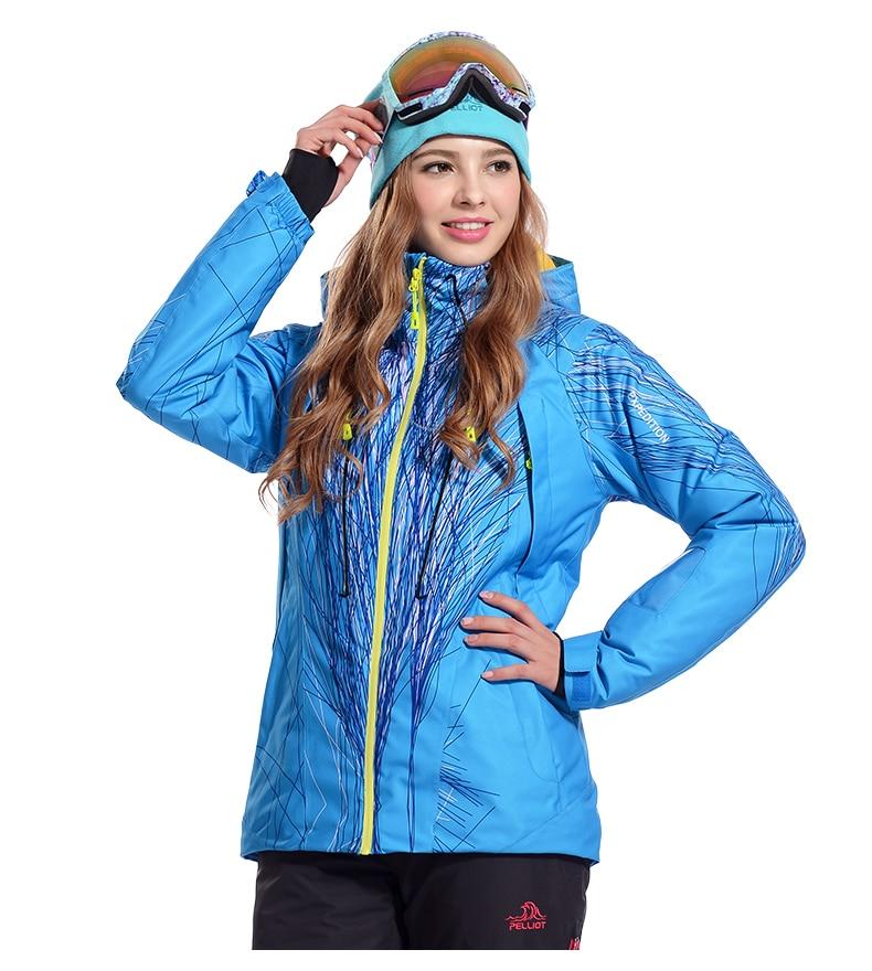 Extérieur imperméable coupe-vent veste pour femmes hiver coton manteau femmes respirant cyclisme escalade veste pour Ski Snowboard