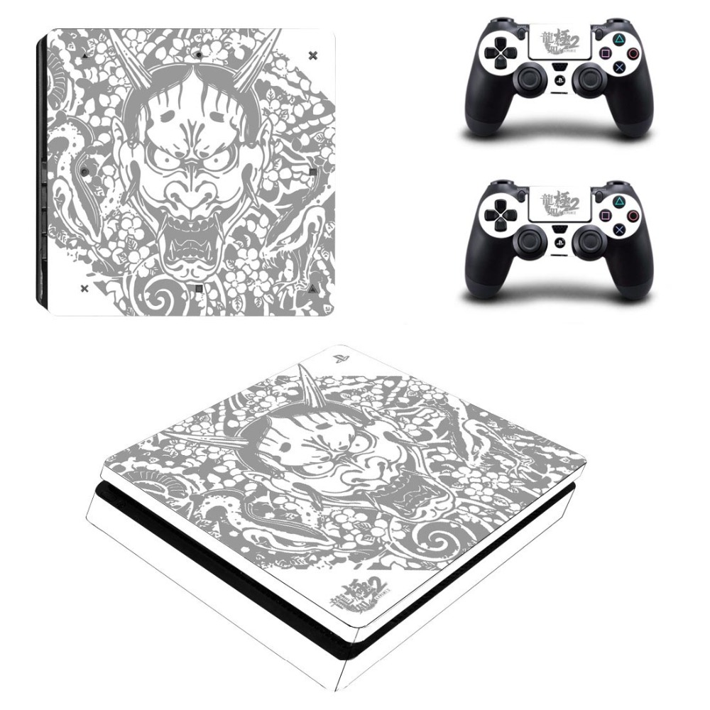 Yakuza Full Faceplates Skin Console Controller Decal Stickers For Sony Ps2 Scph 30000 Service Manual Ysp4s 2091