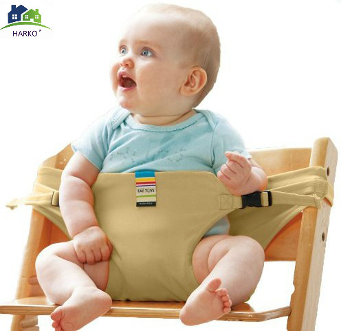 Baby saft dinning lunch chair/seat safety belt/portable infant seat/dinning chair cover  ...
