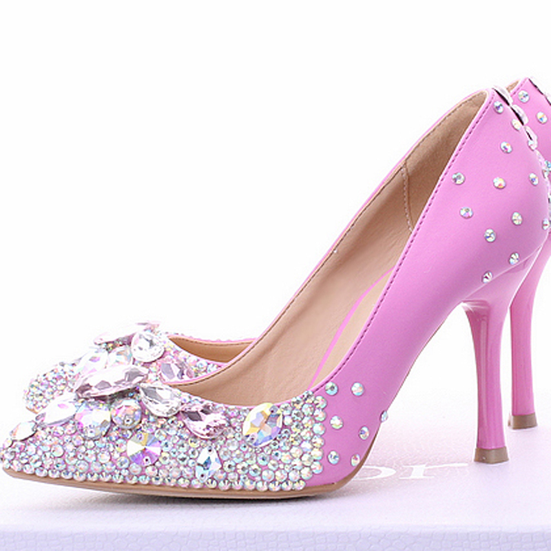 New Pointed Toe High Heels Sexy Women Shoes Beautiful
