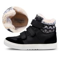 UOVO Autumn Children Shoes Fashion Child Sneakers Fashion Winter Girls Boys Snow Boots Hook Loop Ankle