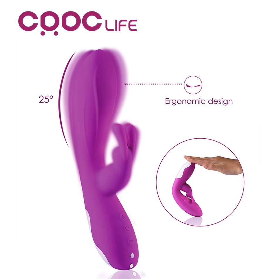CRDC New Double Motor Hare Clitor Vibrators 10 Speeds Sex toys Rabbit G Spot Vibrators Erotic Sex Toys for Women 100% Waterproof кольцо для пениса erotic toys 100