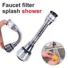 Faucet Nozzle 360 Degree Rotate Kitchen Sprayer Head Water Saving Taps Applications For