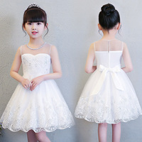 Girls Wedding Dress Children Clothing Princess Summer Party Vest Dresses For Girls Carnaval Costumes Kids 4 5 6 7 8 9 10 Years
