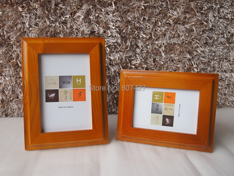american style wood frame picture frame solid foto frame photo frame 4x6 4rchina